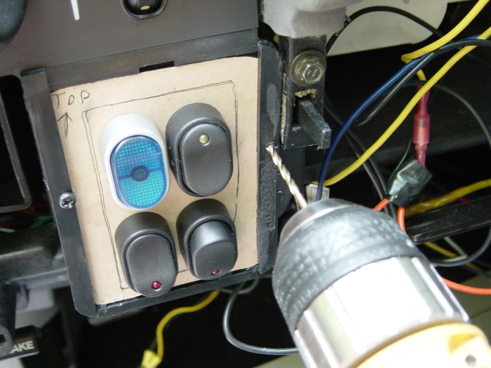 94-96 Caprice/Impala Coin Tray Switches on switch power, switch lights, switch networking, switch engine,