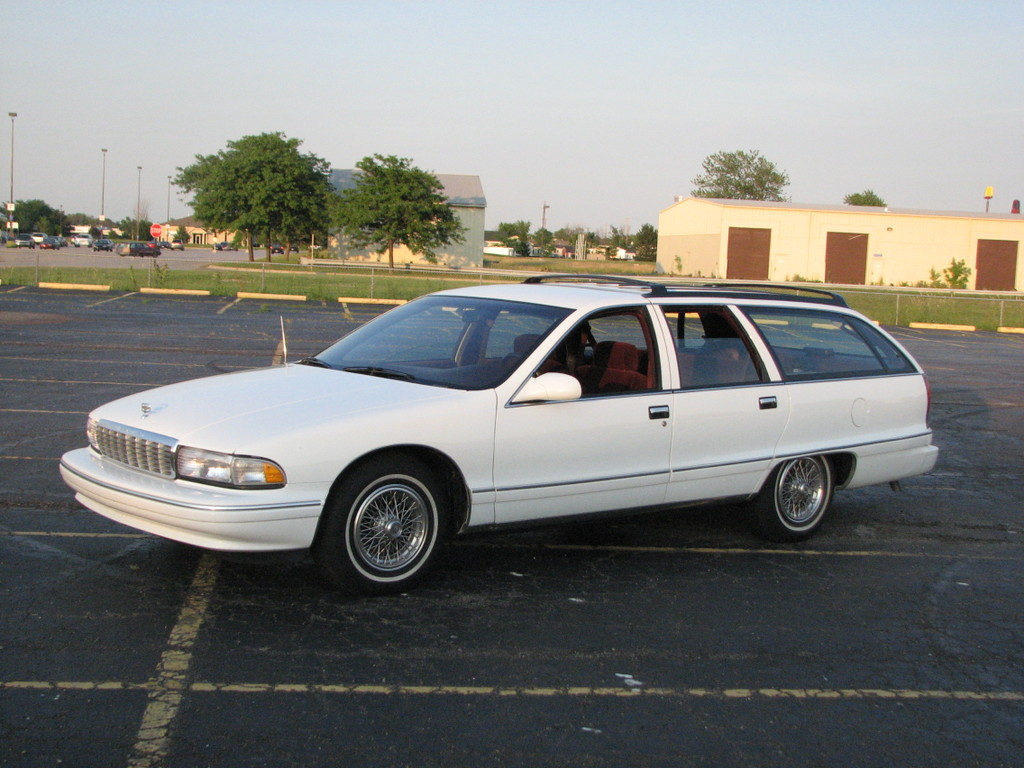 All Chevy 1996 chevrolet caprice wagon : The 1996 Chevrolet Caprice (wagon of course)